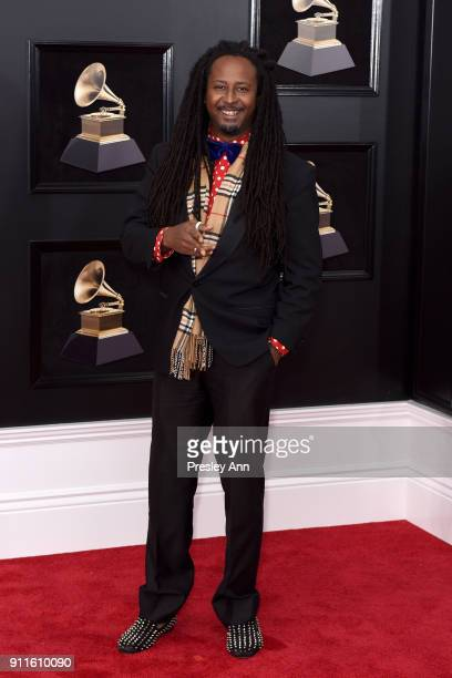 Allen Forrest attends the 60th Annual GRAMMY Awards - Arrivals at Madison Square Garden on January 28, 2018 in New York City.