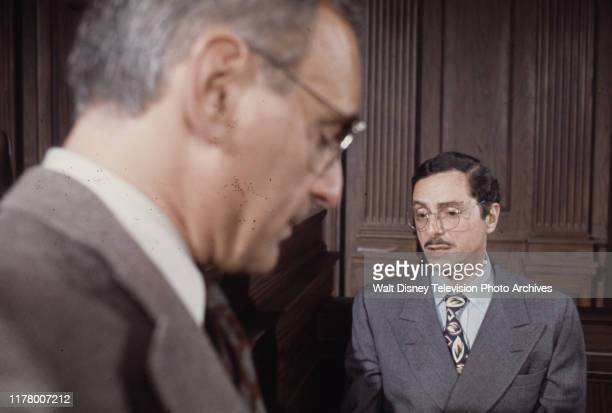 Allen Garfield Allan Arbus appearing in the ABC tv movie 'Judgment The Trial of Julius and Ethel Rosenberg'