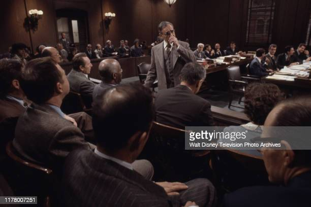 Allen Garfield appearing in the ABC tv movie 'Judgment The Trial of Julius and Ethel Rosenberg'
