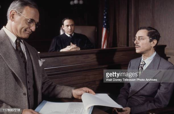 Allen Garfield David Spielberg Allan Arbus appearing in the ABC tv movie 'Judgment The Trial of Julius and Ethel Rosenberg'