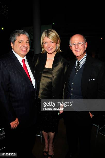 Allen Grubman Martha Stewart and Charles Koppelman attend MARTHA STEWART CENTER for LIVING at the MOUNT SINAI MEDICAL CENTER Third Annual Gala at...