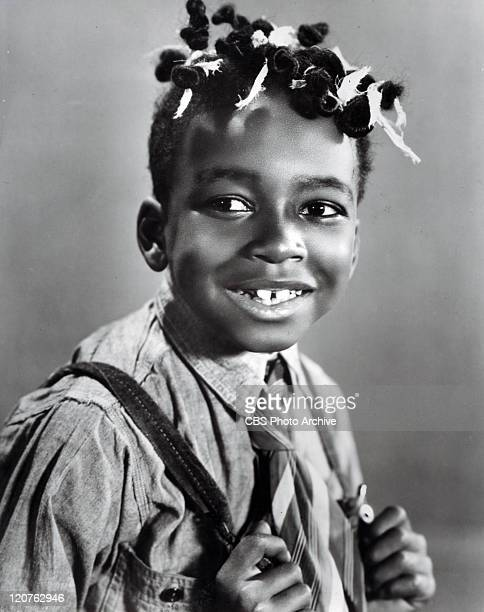 Allen Hoskins played Farina in the Our Gang series later to be known as The Little Rascals Image dated 1929