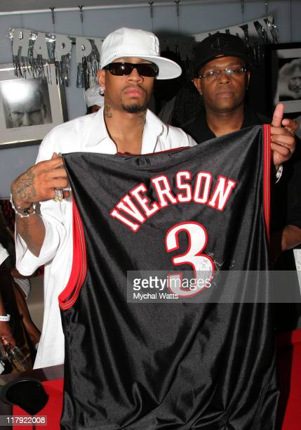 Allen Iverson during Allen Iverson Celebrates 31st Birthday Party at 4040 Club in Atlantic City New Jersey United States