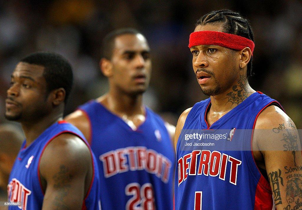 Detroit Pistons v Golden State Warriors : News Photo