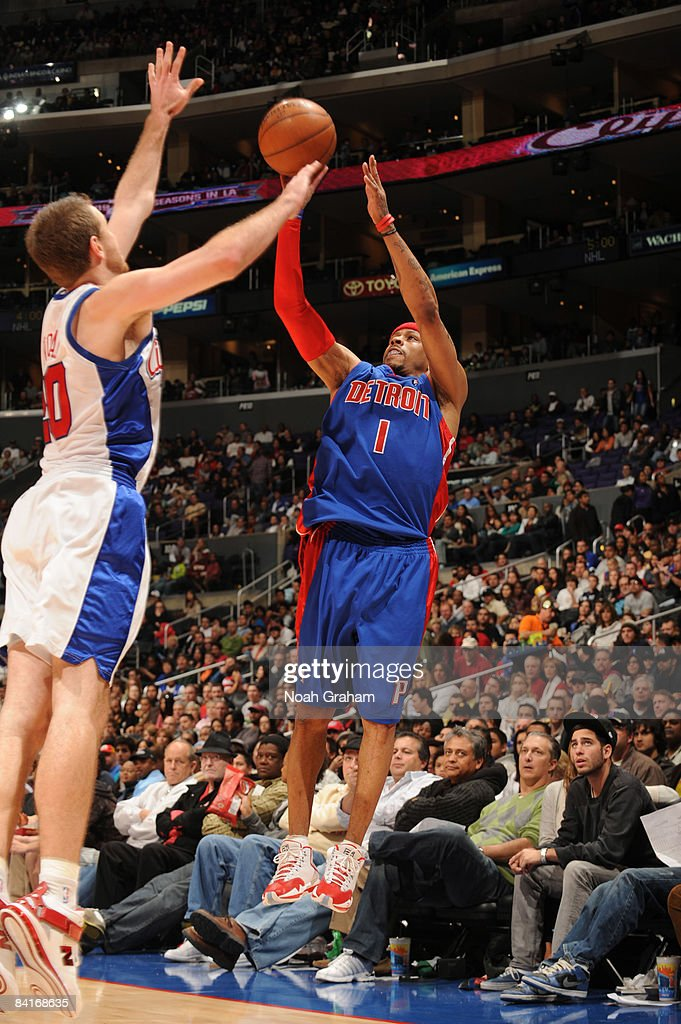 Detroit Pistons v Los Angeles Clippers : News Photo