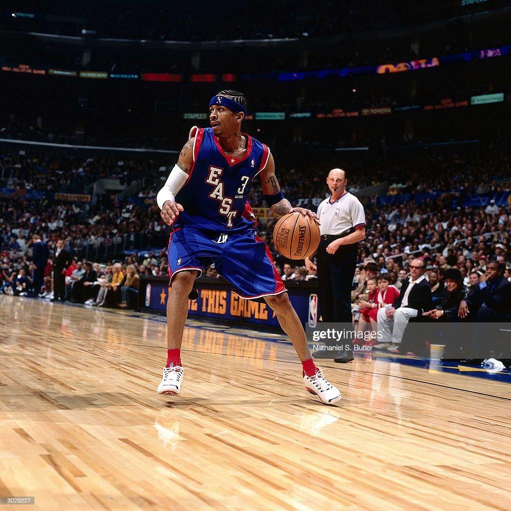 2004 NBA All-Star Game : News Photo