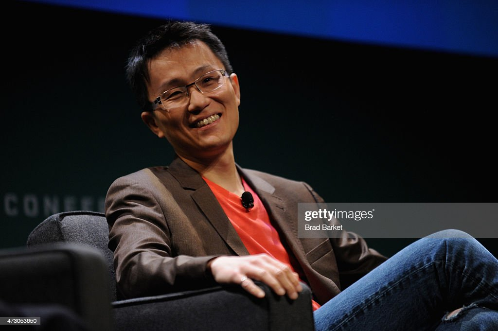 Allen Lau, Cofounder & CEO, Wattpad speaks onstage at the WIRED Business Conference 2015 at Museum of Jewish Heritage on May 12, 2015 in New York City.