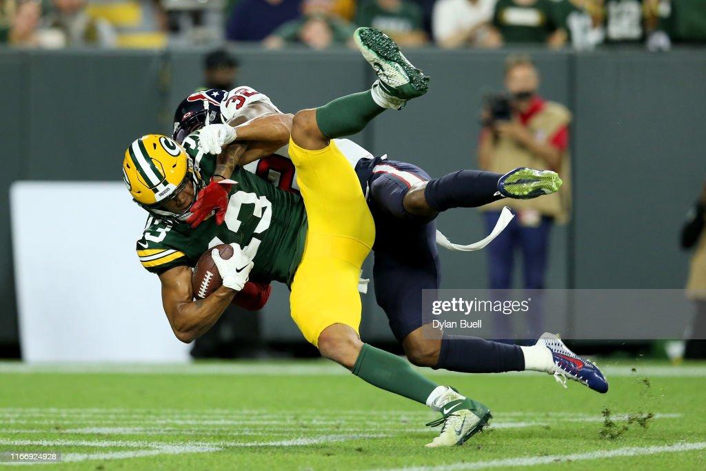 Houston Texans v Green Bay Packers : Nachrichtenfoto