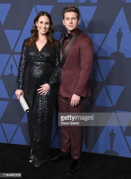 Allen Leech and Jessica Blair arrives at the Academy Of Motion Picture Arts And Sciences' 11th Annual Governors Awards at The Ray Dolby Ballroom at...