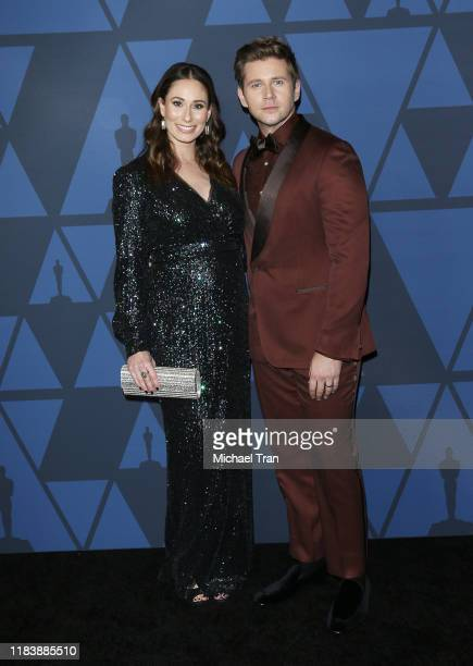 Allen Leech and Jessica Blair Herman arrive to the Academy of Motion Picture Arts and Sciences' 11th Annual Governors Awards held at The Ray Dolby...