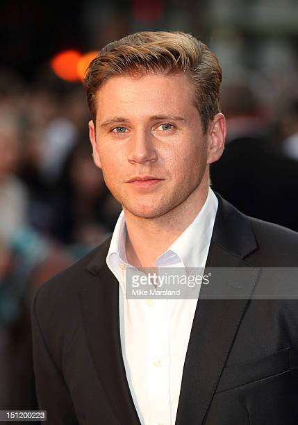 Allen Leech attend the UK Film Premiere of 'The Sweeney' at Vue Leicester Square on September 3 2012 in London England