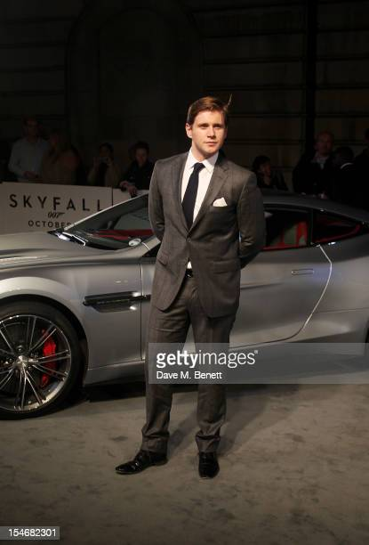 Allen Leech attends a VIP screening of 'Skyfall' hosted by Aston Martin at The Curzon Mayfair on October 24 2012 in London England