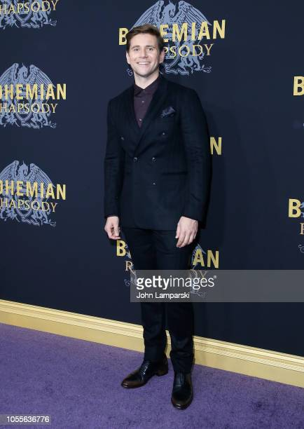 Allen Leech attends 'Bohemian Rhapsody' New York premiere at The Paris Theatre on October 30 2018 in New York City