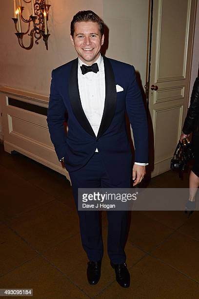 Allen Leech attends the BFI London Film Festival Awards at Banqueting House on October 17 2015 in London England