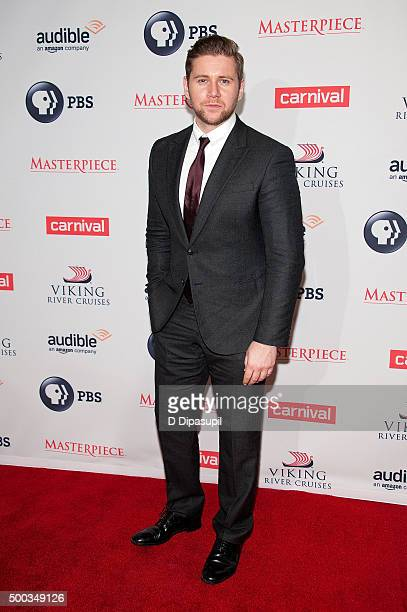 Allen Leech attends the 'Downton Abbey' series season six premiere at the Millenium Hotel on December 7 2015 in New York City