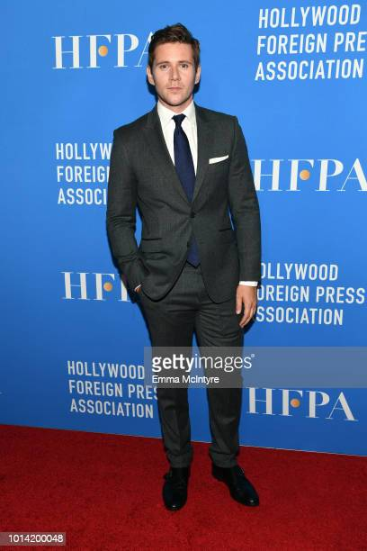 Allen Leech attends the Hollywood Foreign Press Association's Grants Banquet at The Beverly Hilton Hotel on August 9 2018 in Beverly Hills California