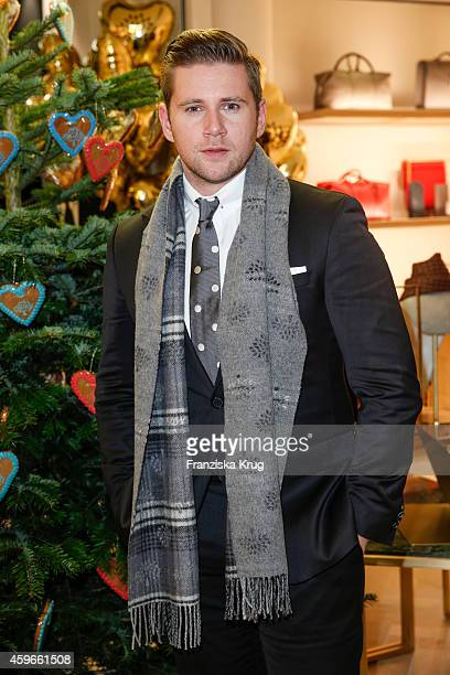 Allen Leech attends the Mulberry Store Opening on November 27 2014 in Frankfurt am Main Germany