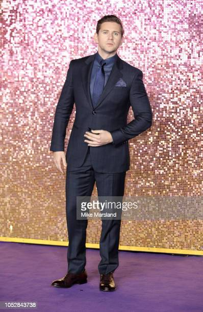 Allen Leech attends the World Premiere of 'Bohemian Rhapsody' at The SSE Arena Wembley on October 23 2018 in London England