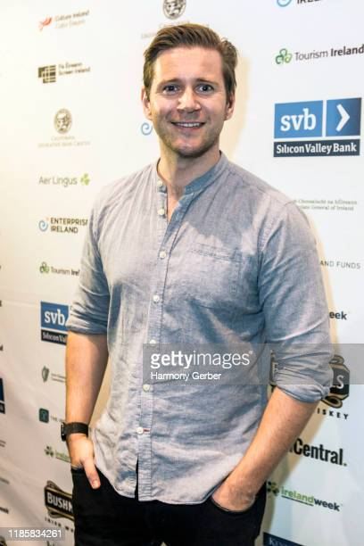 Allen Leech celebrates IrelandWeek In Hollywood at Barnsdall Gallery Theatre on November 05 2019 in Los Angeles California
