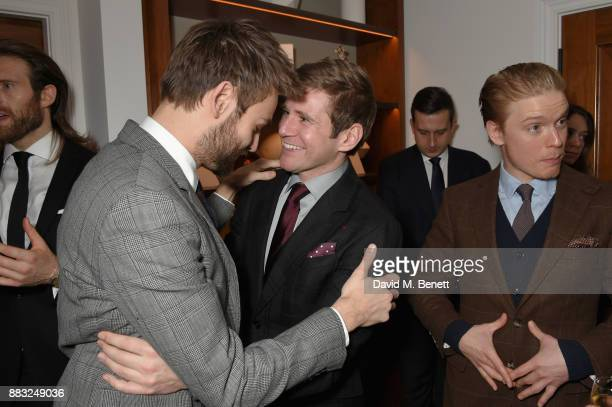 Allen Leech Douglas Booth and Freddie Fox attend as LOUIS XIII and Dylan Jones GQ Editor in Chief cohost Intimate Dinner Celebrating the brand's '100...