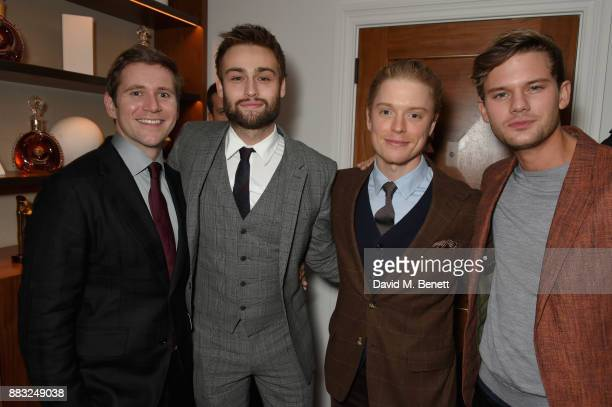 Allen Leech Douglas Booth Freddie Fox and Jeremy Irvine attend as LOUIS XIII and Dylan Jones GQ Editor in Chief cohost Intimate Dinner Celebrating...