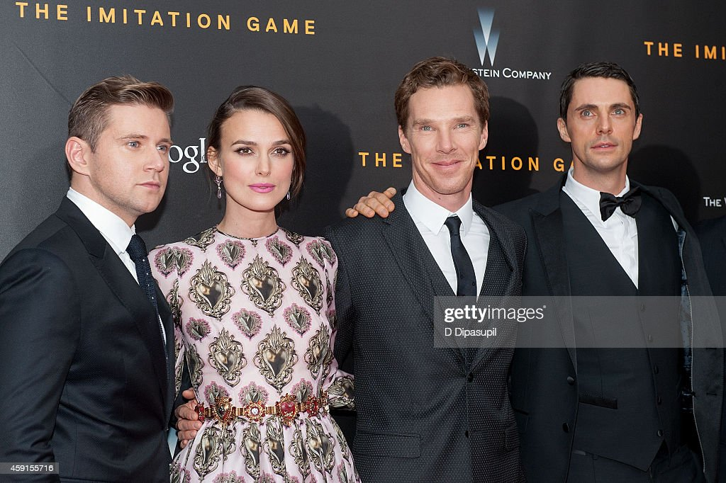 """The Imitation Game"" New York Premiere : News Photo"
