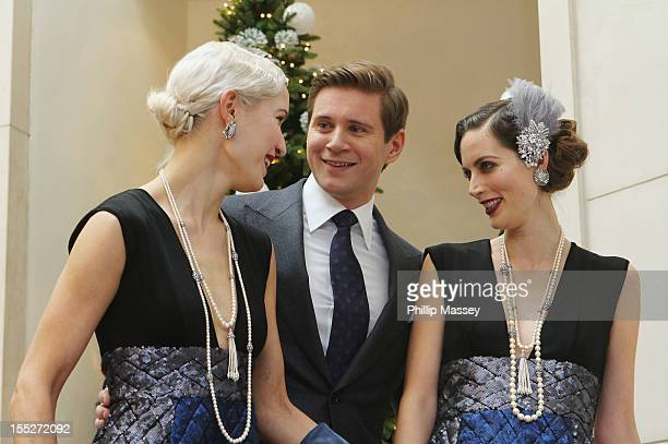 Allen Leech launches 'A Traditional Christmas' at Brown Thomas on November 2, 2012 in Dublin, Ireland.