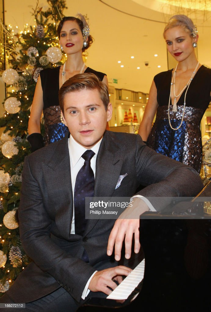 Actor Allen Leech Returns To Dublin To Launch A Traditional Christmas At Brown Thomas