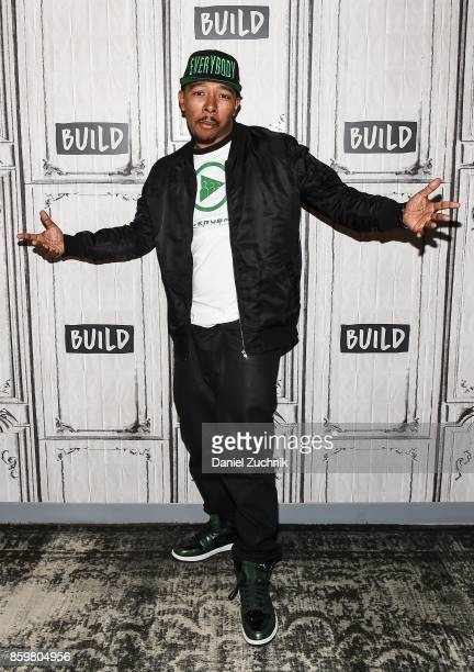 Allen Maldonado attends the Build Series to discuss 'The Everybody Digital App' at Build Studio on October 10 2017 in New York City