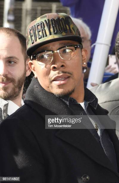 Allen Maldonado attends the premiere of The Last OG at the Paramount Theatre during on March 12 2018 in Austin Texas
