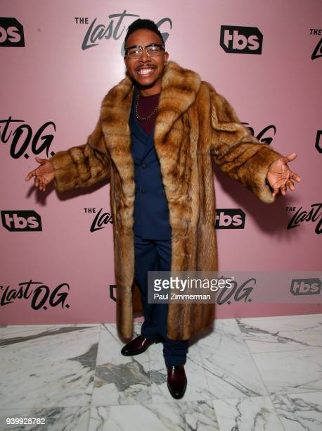 Allen Maldonado attends The Premiere Of 'The Last OG' at The William Vale on March 29 2018 in New York City