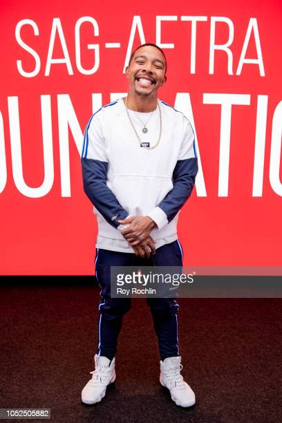 Allen Maldonado attends the SAG AFTRA Business panel discussion 'New Voices New Stories Creating Opportunities' at The Robin Williams Center on...