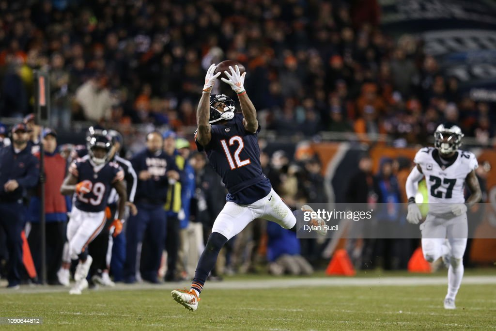 Wild Card Round - Philadelphia Eagles v Chicago Bears : Foto jornalística