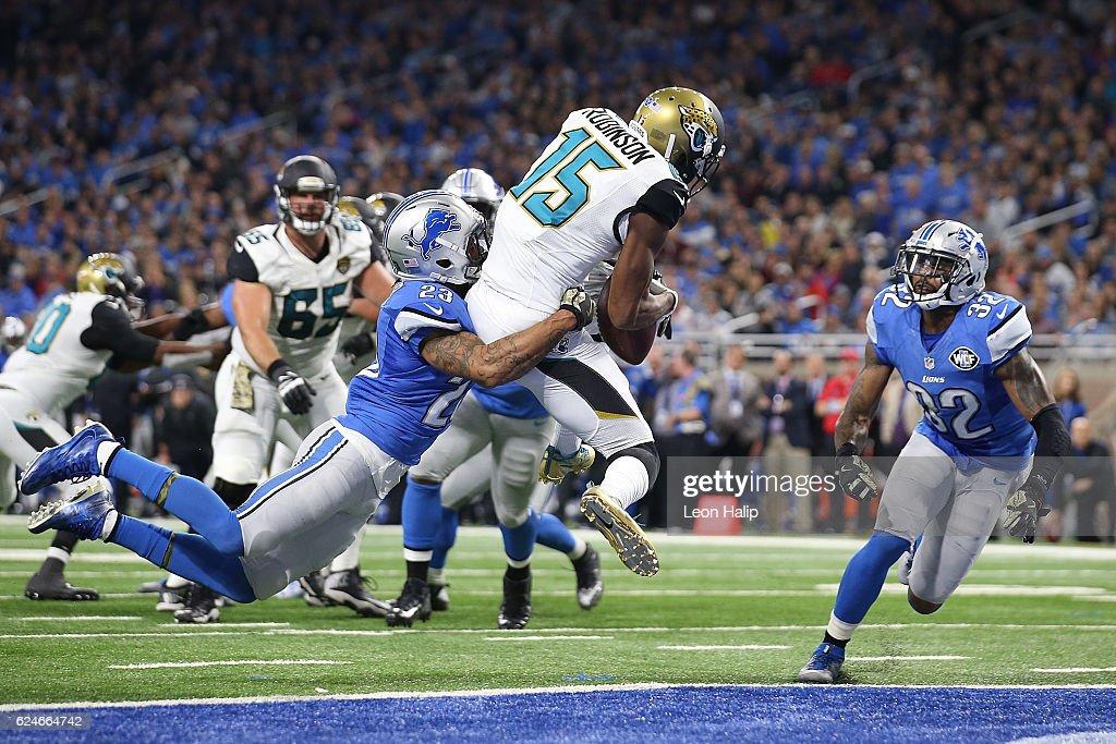 Jacksonville Jaguars v Detroit Lions : ニュース写真