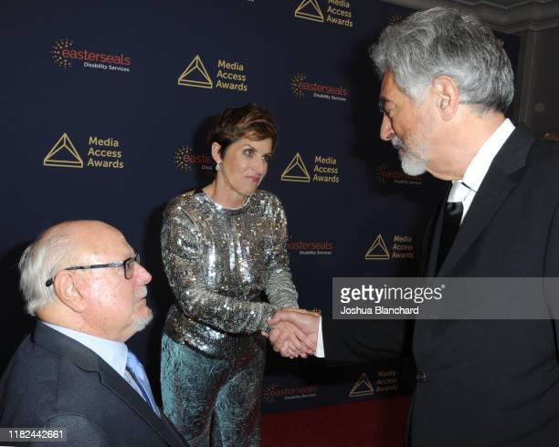 Allen Rucker, Deborah Calla and Joe Mantegna attend the 40th Annual Media Access Awards In Partnership With Easterseals at The Beverly Hilton Hotel...