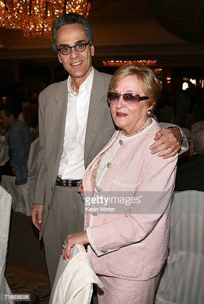 Allen Shapiro and Judy Solomon attend the HFPA annual installation luncheon held at The Beverly Hills Hotel on August 17 2006 in Beverly Hills...