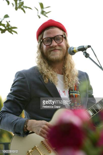 Allen Stone performs at 2018 Recording Academy Partner Summit Day 2 at Waldorf Astoria Beverly Hills on July 19 2018 in Beverly Hills California