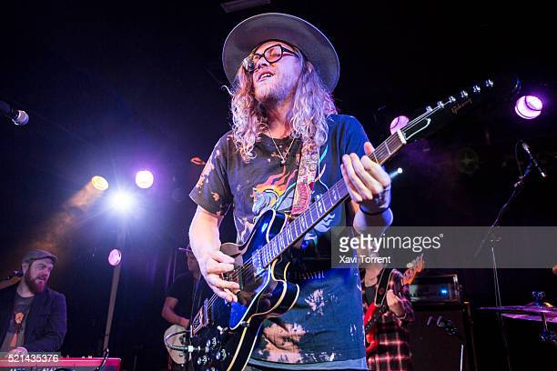 Allen Stone performs in concert at Sala Apolo 2 on April 15 2016 in Barcelona Spain