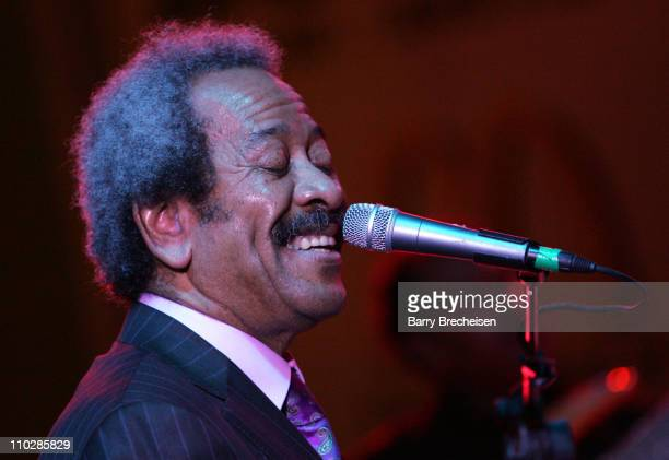 Allen Toussaint during 20th Annual SXSW Film and Music Festival Allen Toussaint at Town Lake Stage at Auditorium Shores in Austin Texas United States