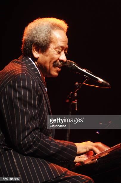 Allen Toussaint performing on stage Ancienne Belgique Brussels Belgium November 2006