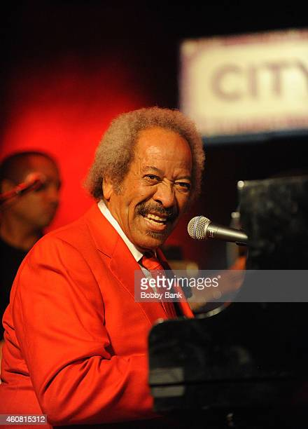 Allen Toussaint performs at City Winery on December 23 2014 in New York City