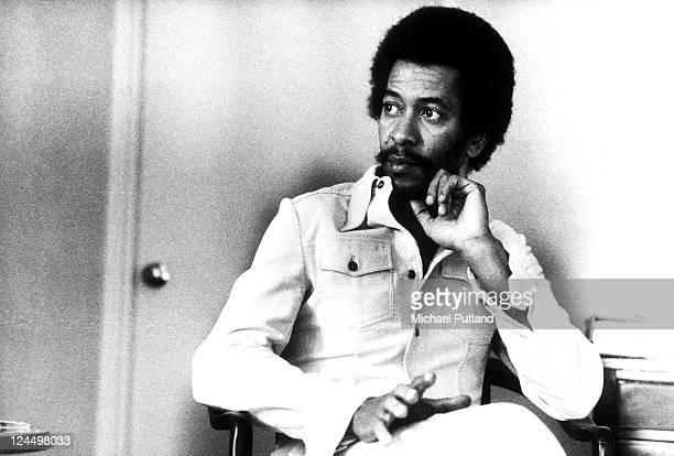 Allen Toussaint portrait London 1974