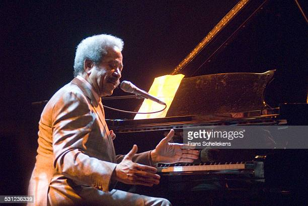 Allen Toussaint, vocal and piano, performs at the Melkweg on November 2nd 2006 in Amsterdam, Netherlands.