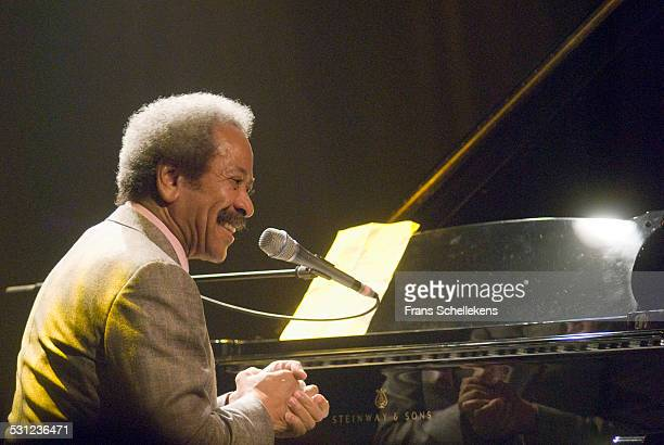 Allen Toussaint vocal and piano performs at the Melkweg on November 2nd 2006 in Amsterdam Netherlands