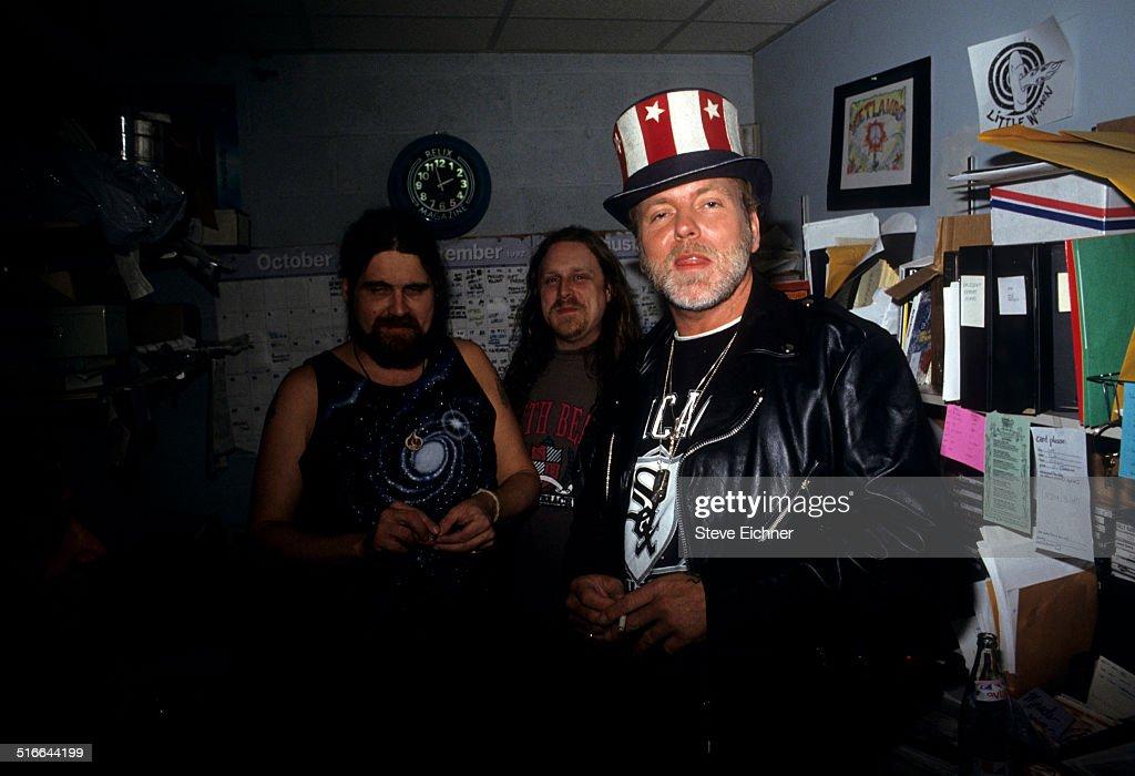 Woody, Haynes, & Allman : News Photo