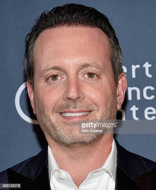 Allergan CEO Brent Saunders attends the Liberty Science Center's Genius Gala 50 on May 20 2016 in Jersey City New Jersey