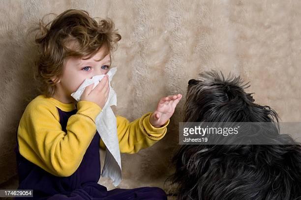 Alergia niño de