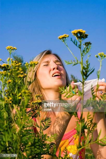 allergia stagionale - izusek foto e immagini stock