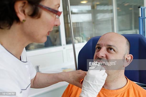 Allergy Test Man