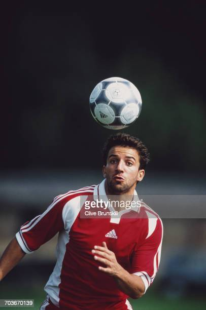 Allessandro del Piero of Italy and Juventus Football Club poses for a portrait for sports clothing accessories company Adidas a on 21 September 1999...